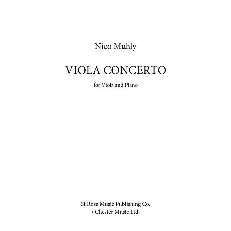 St. Rose Music Publishing Co.Viola Concerto (for Viola and Piano) Music Sales America Series Softcover