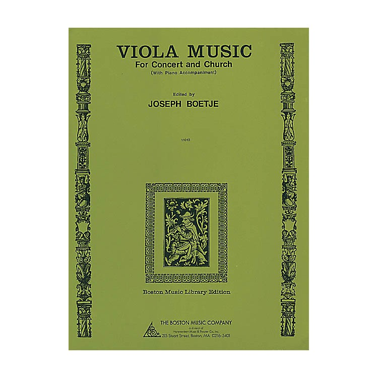 Music SalesViola Music for Concert and Church (with Piano Accompaniment) Music Sales America Series
