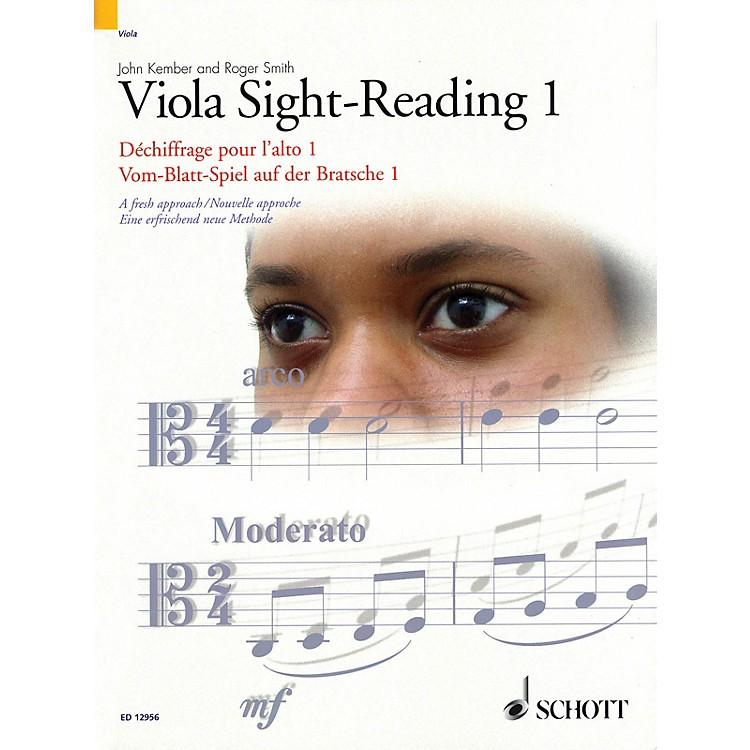 SchottViola Sight-Reading 1 String Series Written by John Kember