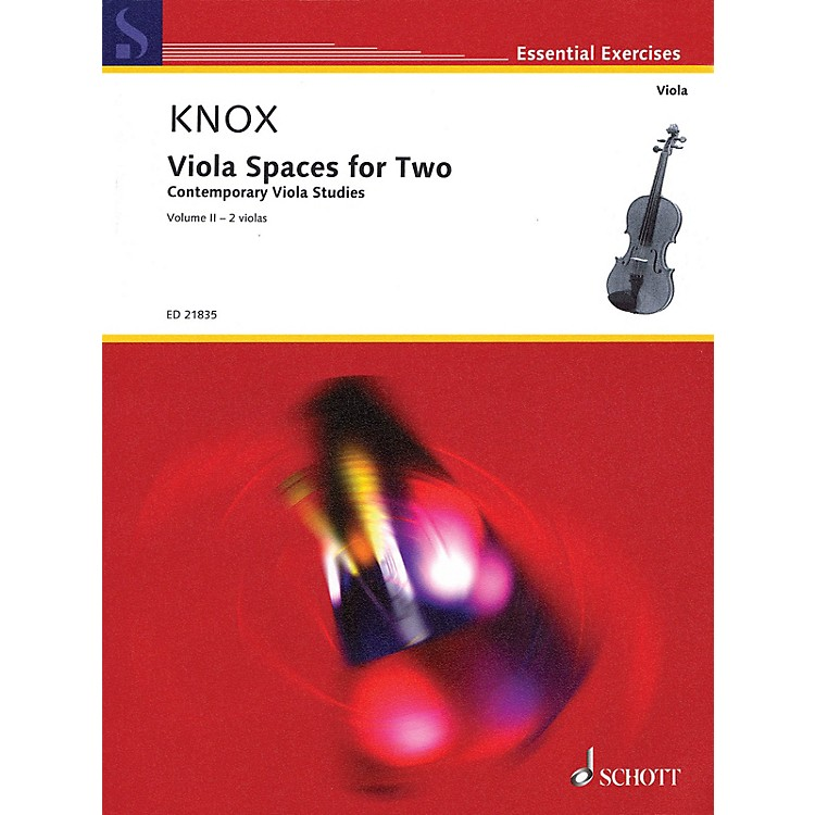 SchottViola Spaces for Two (Performance Score) String Series Softcover Composed by Garth Knox