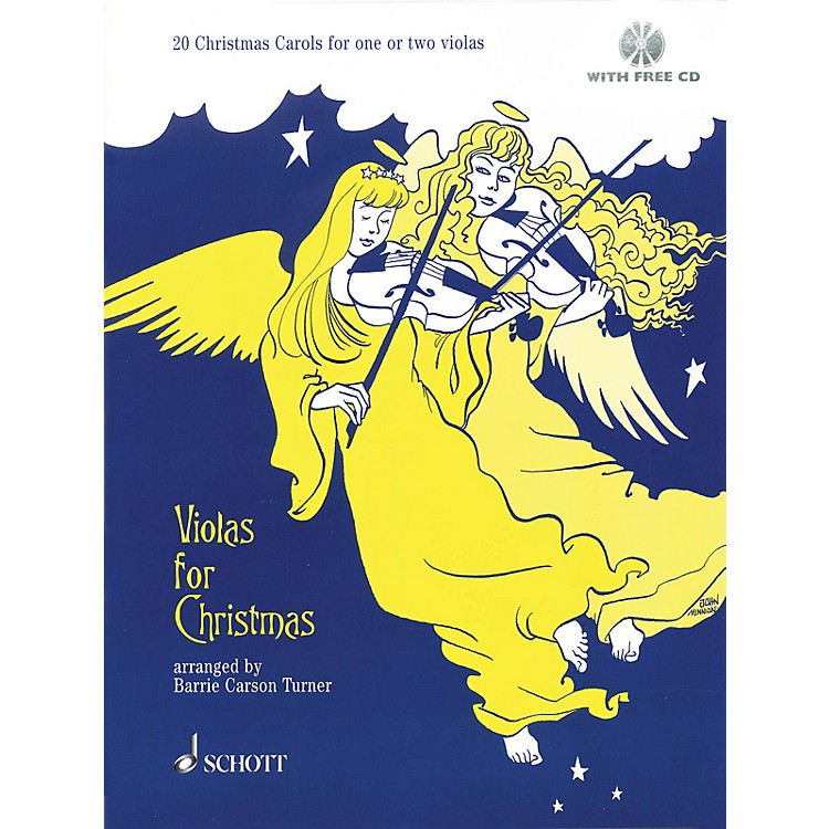 SchottViolas for Christmas (20 Christmas Carols for One or Two Violas) Schott Series