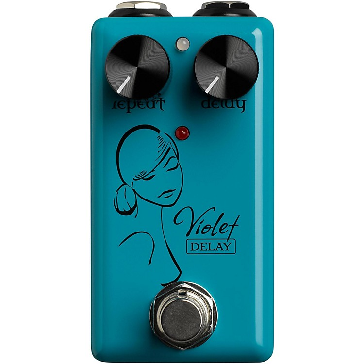Red WitchViolet Delay Guitar Effects Pedal888365734255