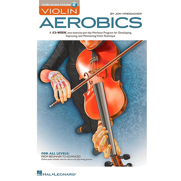 Hal LeonardViolin Aerobics Book/Online Audio