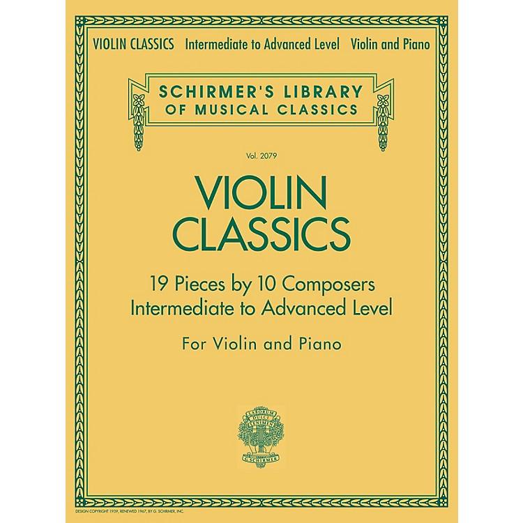 G. SchirmerViolin Classics String Series