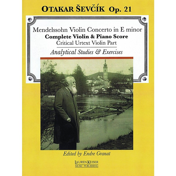 Lauren Keiser Music PublishingViolin Concerto in E minor LKM Music Series Softcover Written by Otakar Sevcik