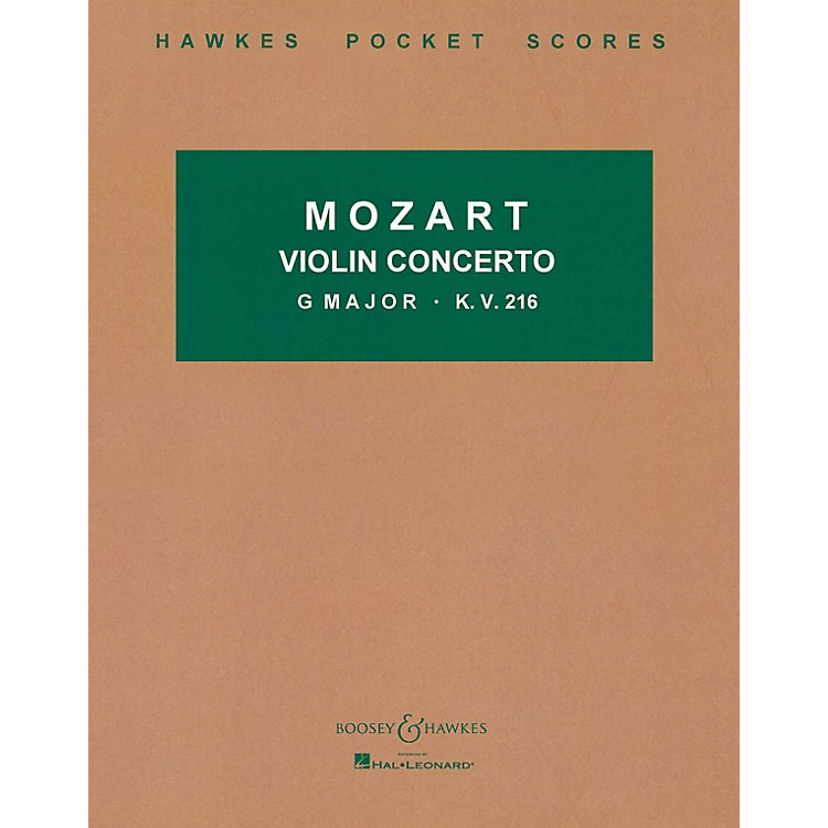Boosey and HawkesViolin Concerto in G Major, K.V. 216 Boosey & Hawkes Scores/Books Series by Wolfgang Amadeus Mozart
