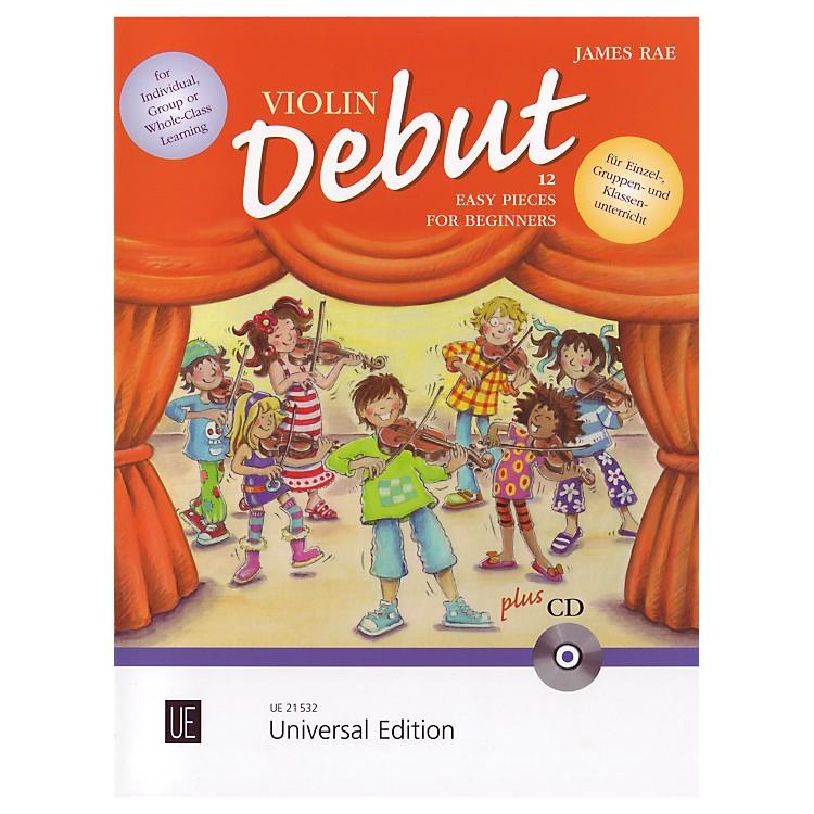 Theodore PresserViolin Debut - Pupils Book (Book + CD)