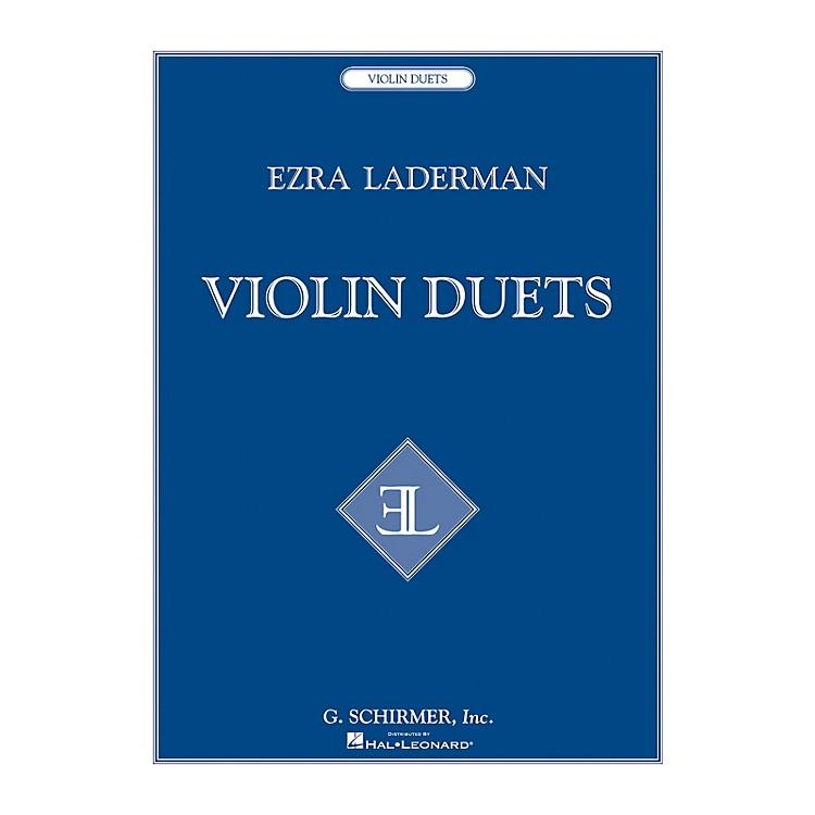 G. SchirmerViolin Duets String Series Composed by Ezra Laderman