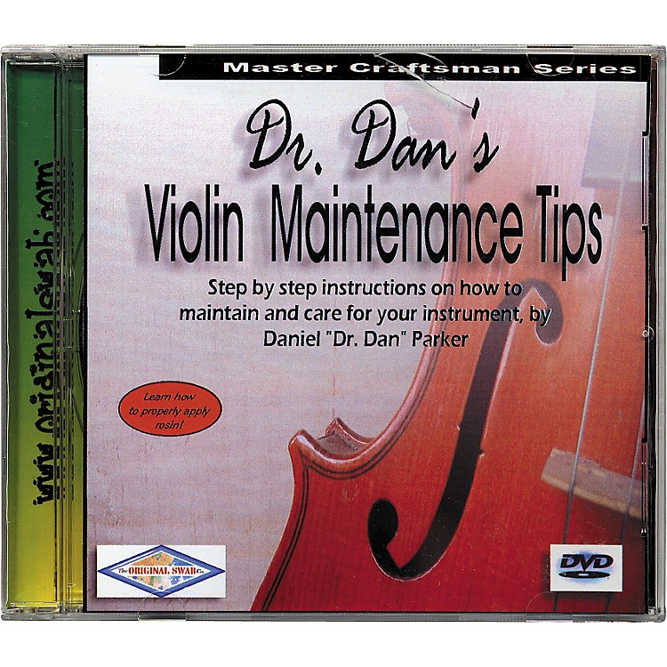 Dr. Dan'sViolin Maintenance DVD