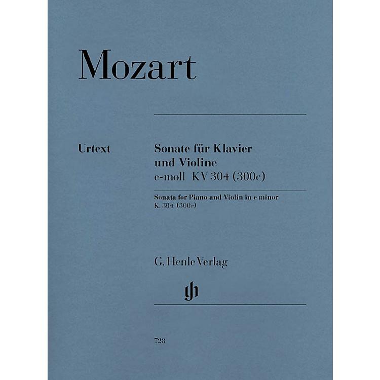 G. Henle VerlagViolin Sonata in E Minor K304 (300c) Henle Music Folios Series Softcover