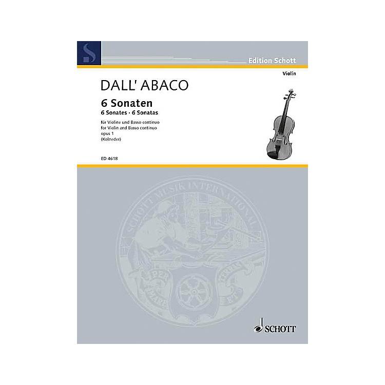 SchottViolin Sonatas Op. 1 Schott Series