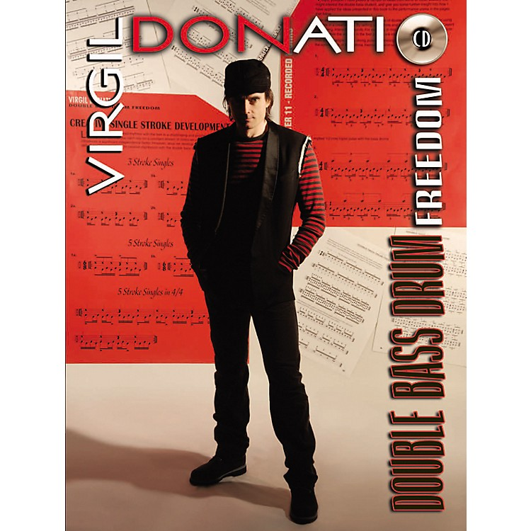 Alfred Virgil Donati Double Bass Drum Freedom (Book/CD)