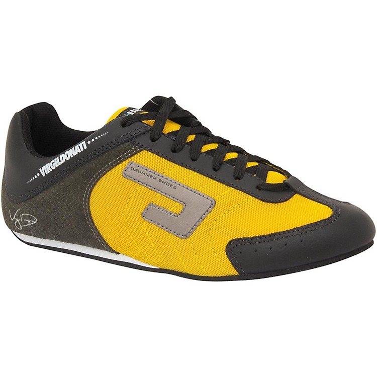Urbann Boards Virgil Donati Signature Shoes, Yellow-Black 8