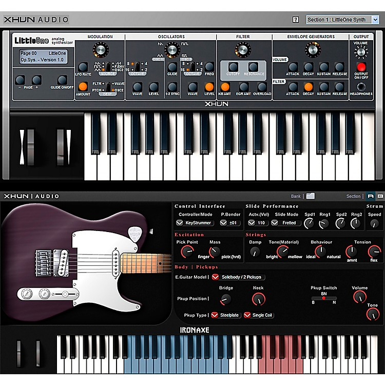 XHUN Audio Virtual Instruments Bundle (Download)
