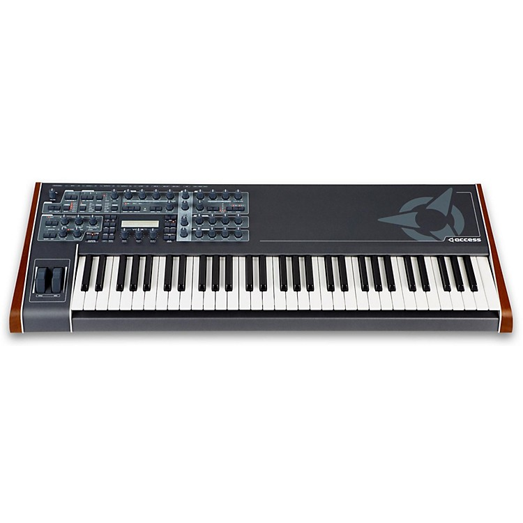 Access Virus TI v2 Keyboard Total Integration Synthesizer and Keyboard Controller Black