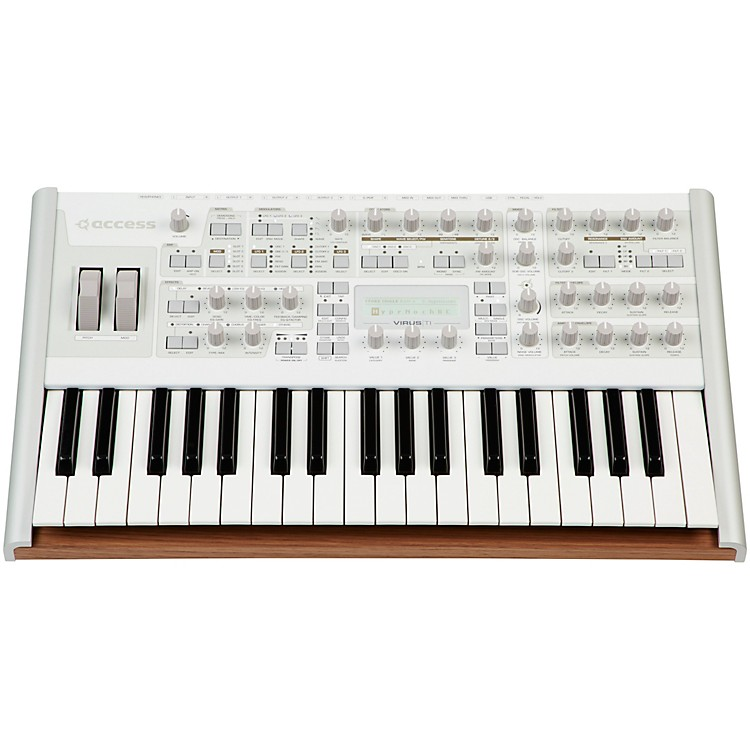 AccessVirus TI v2 Polar Total Integration Synthesizer and Keyboard Controller888365015514