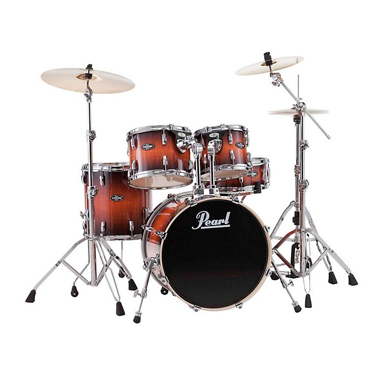 Pearl Vision Birch Artisan II New Fusion Shell Pack Ruby Fade Eucalyptus