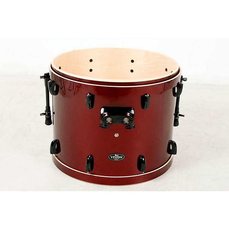 Pearl Vision Birch Bass Drum Wine Red, 22x18 888365830292