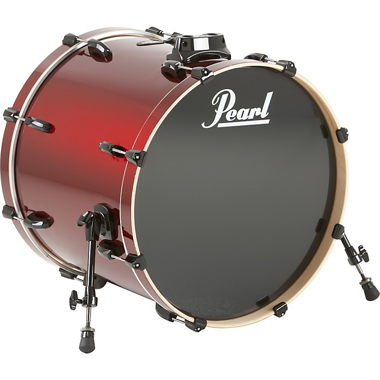 Pearl Vision Birch Bass Drum Wine Red 22x18