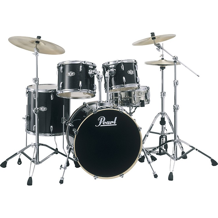 pearl vision vsx 5 piece standard drum set music123. Black Bedroom Furniture Sets. Home Design Ideas