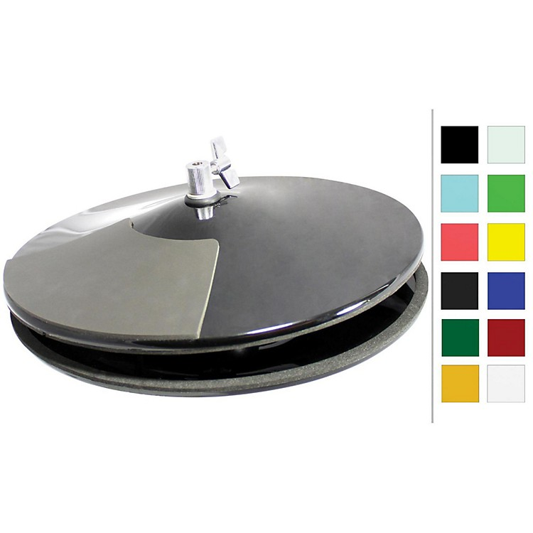 PintechVisuLite Professional Hi-Hat Cymbals with Included Controller13 in.Fluorescent Yellow