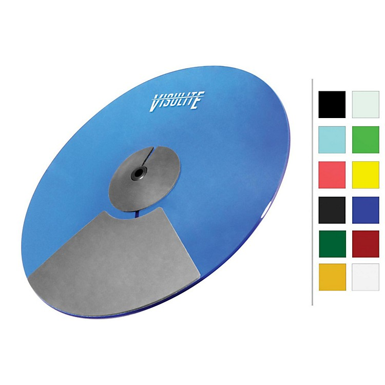 Pintech VisuLite Professional Triple Zone Ride Cymbal 18 in. Translucent Blue