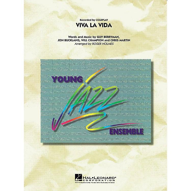 Hal LeonardViva La Vida Jazz Band Level 3 by Coldplay Arranged by Roger Holmes