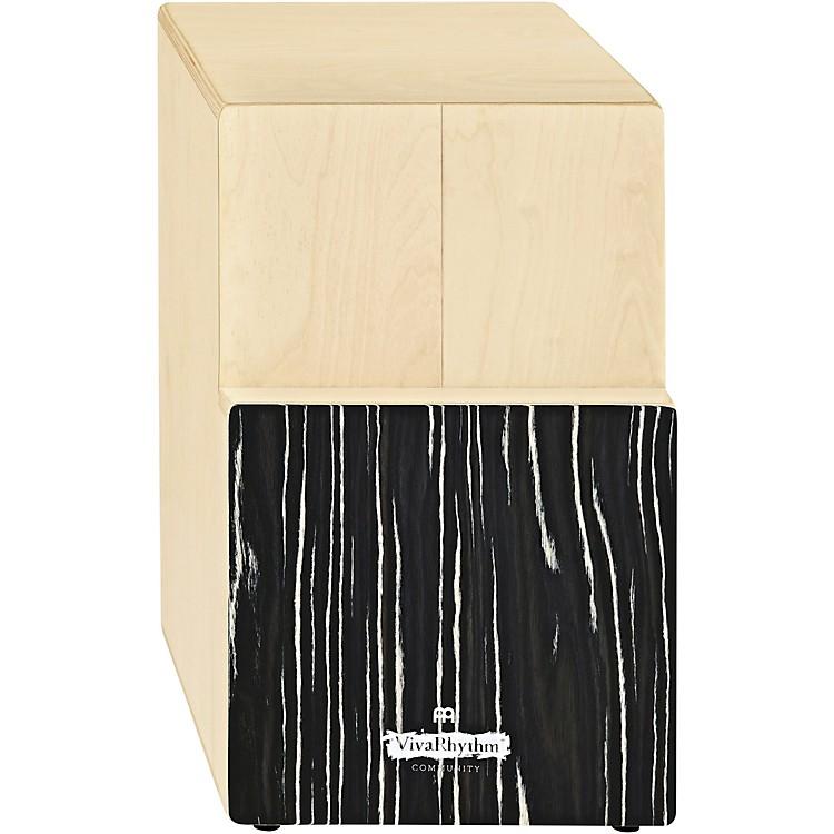 MeinlVivaRhythm Birch Wood Tri-CajonStriped Onyx