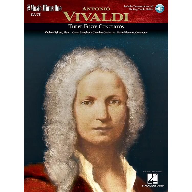 Music Minus OneVivaldi Flute Concerti in D Major (RV429); G Major (RV435); A Minor (RV440) Music Minus One Book/CD