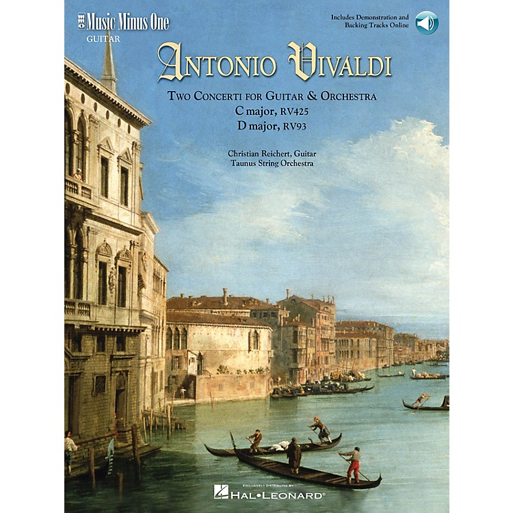 Music Minus OneVivaldi-Two Concerti for Guitar (Lute) & Orch: C Maj RV425 and D Maj RV93 Music Minus One BK/Audio Online
