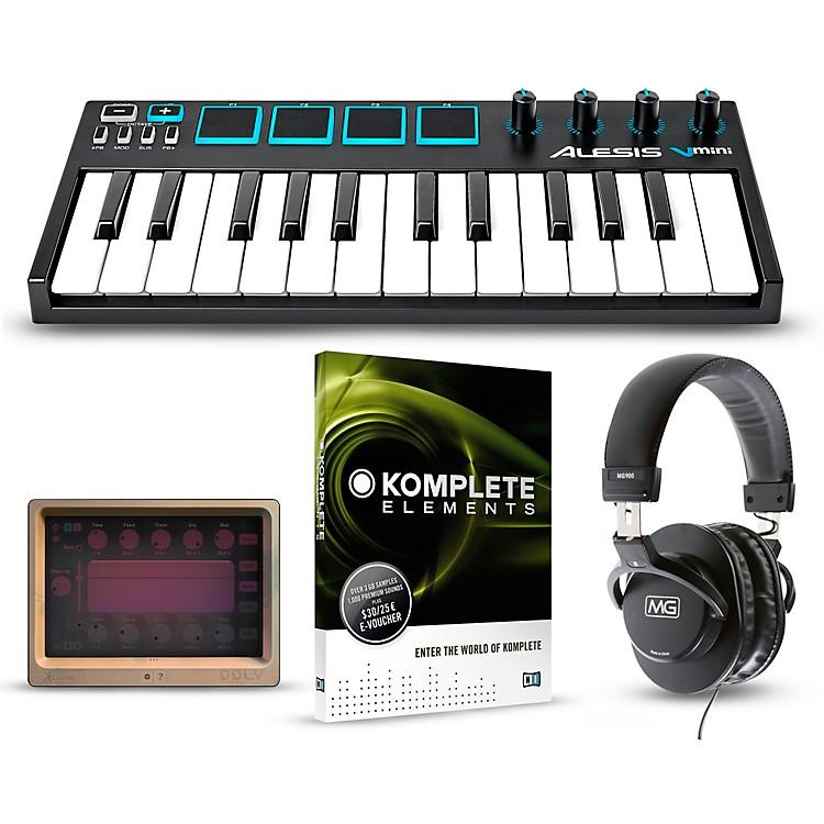AlesisVmini Portable 25-Key USB-MIDI Keyboard Controller PackagesMobile Beginner Package