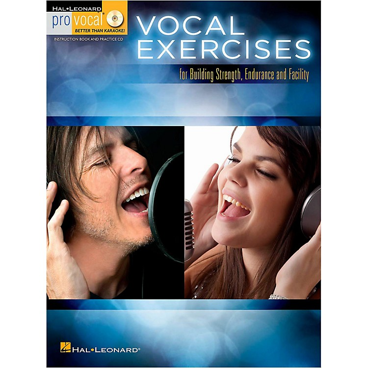 Hal Leonard Vocal Exercises for Building Strength, Endurance and Facility - Pro Vocal Series Book/CD
