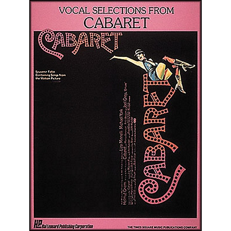 Hal LeonardVocal Selections From Cabaret Songbook - Piano, Vocal, and Guitar