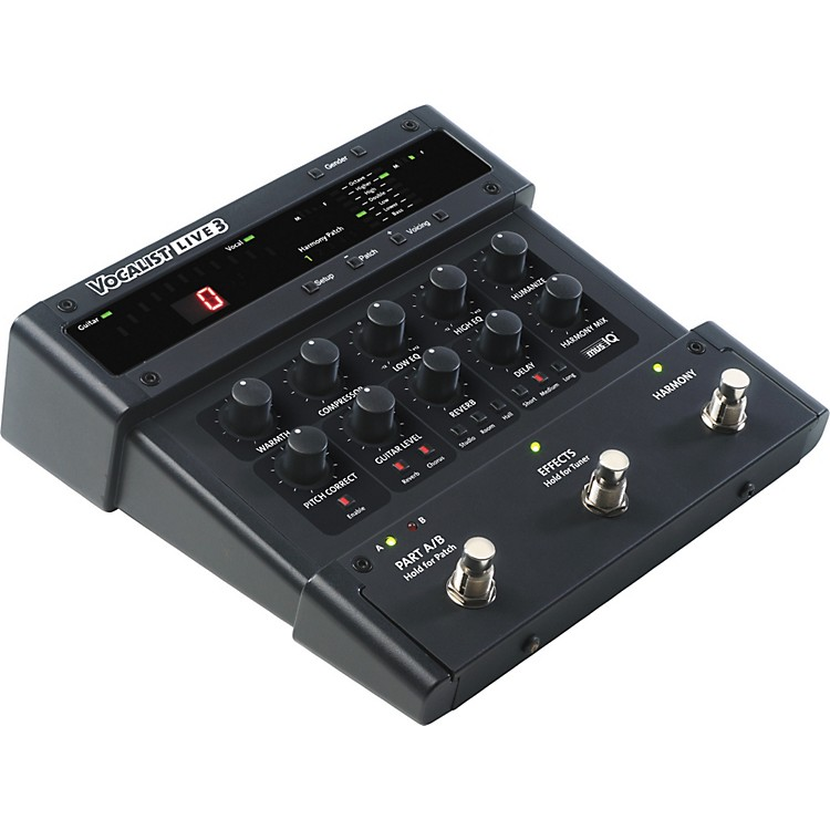DigiTechVocalist Live 3 Vocal Harmony Processor Pedal