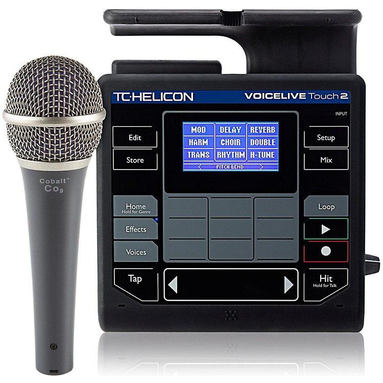 TC HeliconVoiceLive Touch 2 with Cobalt CO9 Mic Bundle
