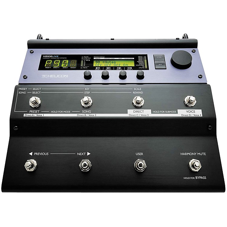 TC Helicon VoiceLive Vocal Floor Processor