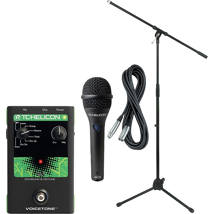 TC HeliconVoiceTone D1 with MP-75 Mic