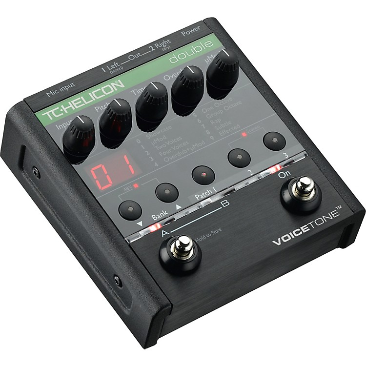 TC Helicon VoiceTone Double Overdubbing Pedal