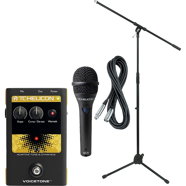 TC HeliconVoiceTone T1 with MP-75 Mic