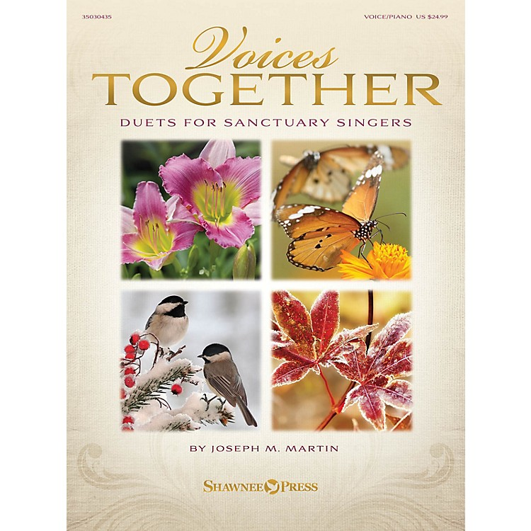 Shawnee PressVoices Together (Duets for Sanctuary Singers) Book and CD pak Composed by Joseph M. Martin
