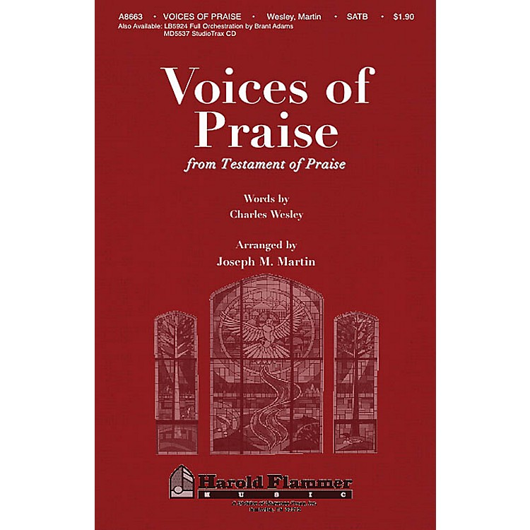 Shawnee Press Voices of Praise (from Testament of Praise) SATB arranged by Joseph M. Martin