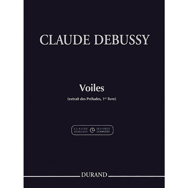 DurandVoiles (Excerpt from Preludes Volume 1) Editions Durand Series Softcover
