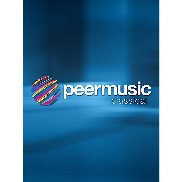 Peer MusicVolpone (Vocal Score) Peermusic Classical Series Composed by John Musto