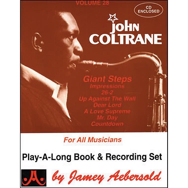Jamey AebersoldVolume 28 - John Coltrane - Play-Along Book and CD Set