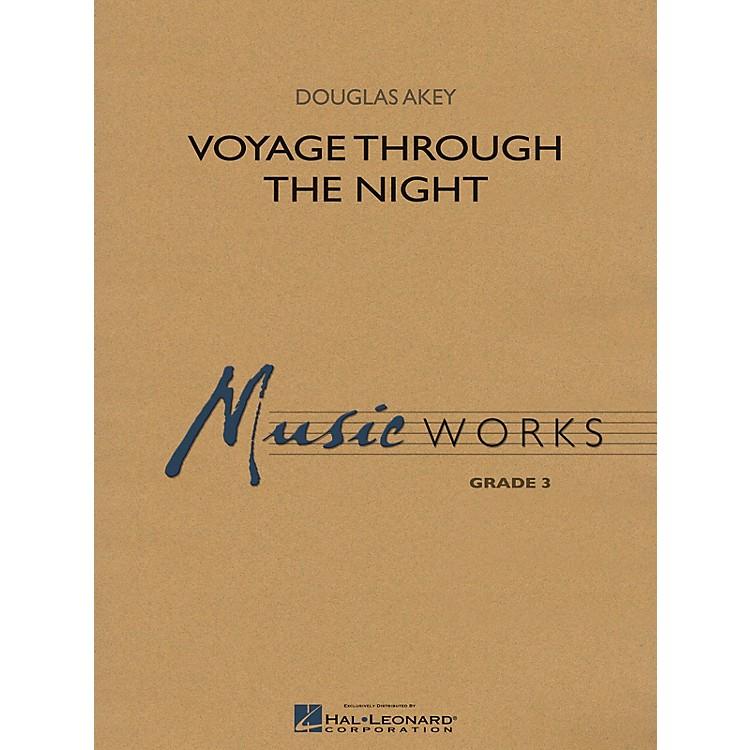 Hal LeonardVoyage Through the Night Concert Band Level 3 Composed by Douglas Akey
