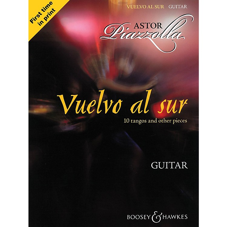 Boosey and HawkesVuelvo al Sur (10 Tangos and Other Pieces Guitar Solo) Boosey & Hawkes Miscellaneous Series Softcover
