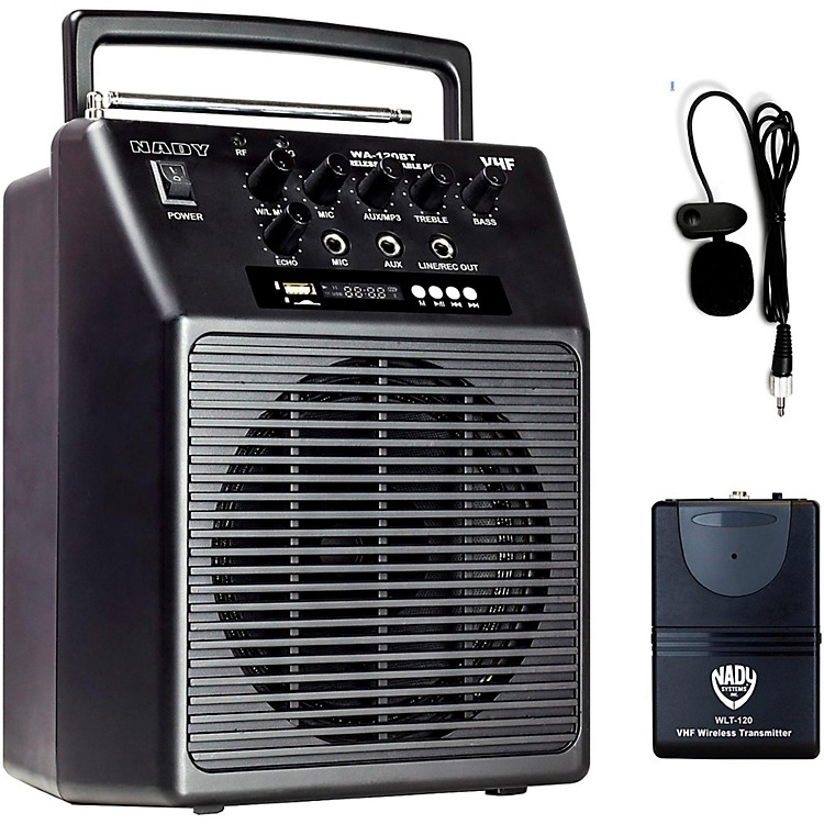 Nady WA-120BT LT Portable Wireless PA System Band R