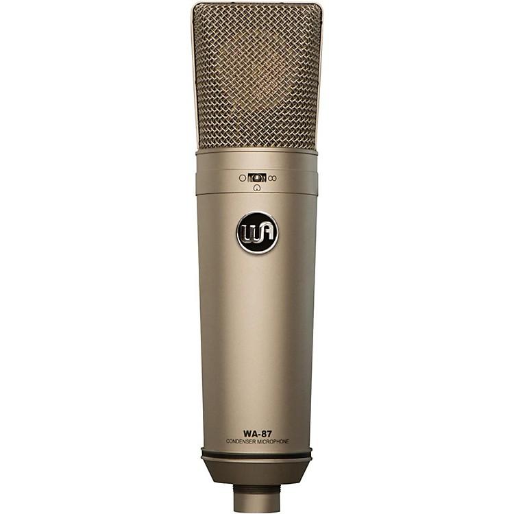 Warm AudioWA-87 Vintage-Style Condenser MicrophoneNickel