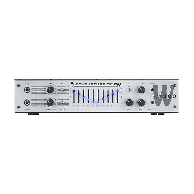WarwickWA300 300W  Bass HeadBlack
