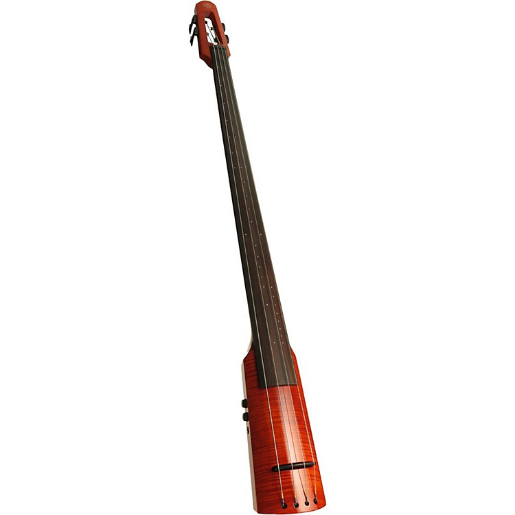 NS Design WAV Series 4-String Upright Electric Bass Amber Burst